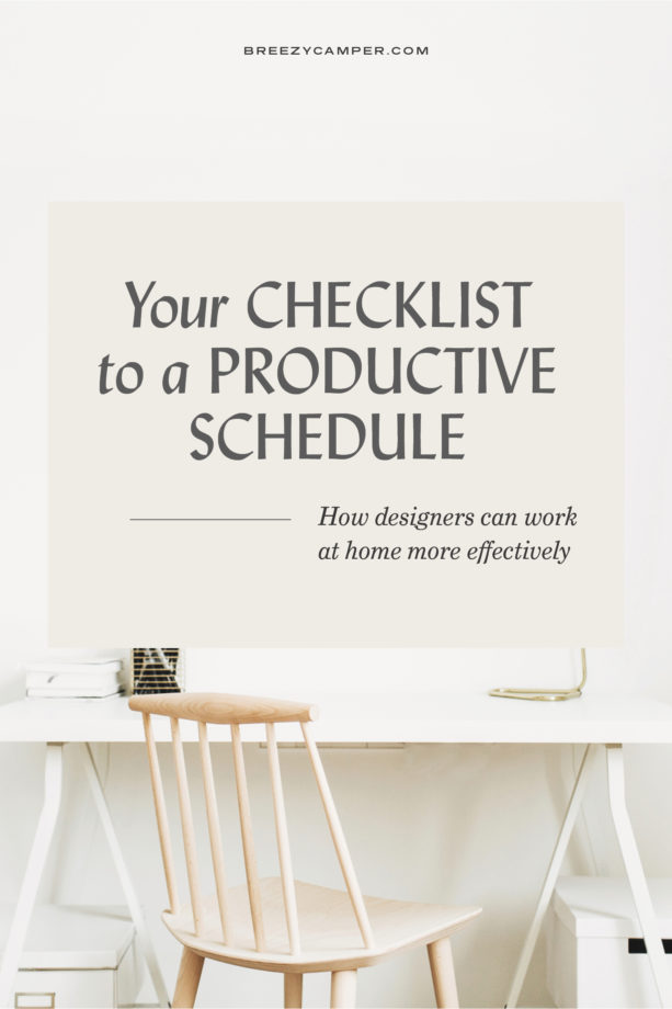 As more designers work at home, it's important to establish a productive schedule for your business. Time management is key to balancing your client work with your other tasks. Want to learn more? Read about the different types of work at home routines you can try!